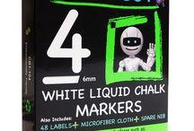 CraftyBot Liquid Chalk Products / CraftyBot Liquid Chalk Products