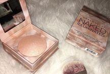 Blush or Bronzers
