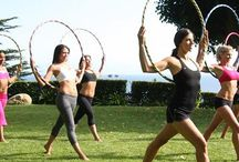 Hula Hoop exercise program