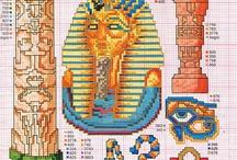 Ägypten cross stitch