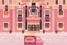 Wes Anderson worlds