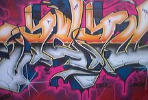 Graffiti / Some inspiration for the wall in my sons bedroom / by Mischa Wester