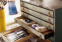 Столовые приборы- комоды для хранения