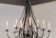 Classic forged chandeliers