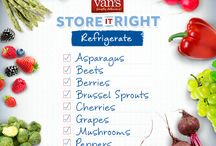 Store it Right / Tips and helpful suggestions for keeping things fresh with proper food storage. / by Van's Foods