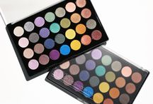 Foil Eyes / Tune in to heavy metal with our striking Foil Eyes 28 Color Eyeshadow Palette, a collection of shocking, pigment-packed, multidimensional metallics. The ultra-saturated mix of neutrals and jewel-toned brights – from icy ivory and super-charged charcoal to flashy fuchsia and electrifying aquamarine — dares you to experiment and give your makeup a jolt. Blend, layer and play with adventurous placement to rock your world and make your eyes really pop! / by BH Cosmetics