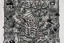 El Dìa de los Muertos / Ecco alcune delle storiche grafiche di Scorpion Bay ispirate al tema del Dìa de los Muertos (Giorno dei Morti), ovvero una delle celebrazioni rituali più importanti del Messico. Secondo la tradizione in questo giorno si invocano gli spiriti degli antenati per condividere un momento con la loro famiglia e il mondo materiale in un'atmosfera magica e colorata.