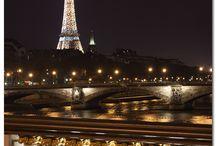 Paryż Francja / Wieża Eiffla