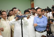 'Mark-10'- The first shooting range of Panchkula / Mark-10, Panchkula's first shooting range was inaugurated by Sh. Anil Vij, Sports and Youth Affairs Minister, Haryana at Hallmark Public school.