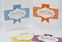 Thank You cards / by Diana Crawford