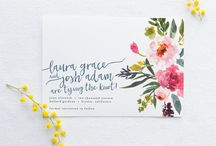 Wedding Tribe: Lovely Paper Goods / Curated wedding inspiration from our very own Ruffled members