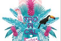 tropical graphisme