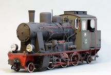 Train - paper models