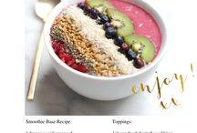 acai + smoothie bowls