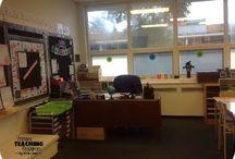 Fifth Grade Classroom Setup / Classroom Photos