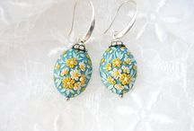 My Etsy Floral Jewelry