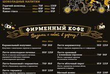 menu on behance