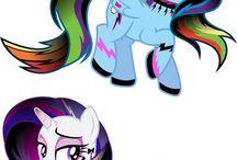 Fluttershy, Rairity, Rainbow Dash, Pinkie Pie, Twilght, AppleJack,Spike