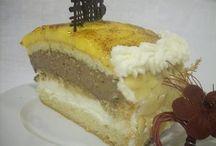 tartas/pasteles variados