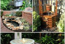 Garten Gestaltung Brunnen