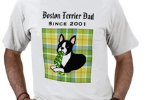 Boston Terrier Cartoon Products