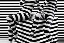 Black-white stripes