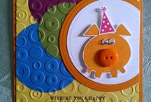 Cards - * Button Buddies / by Trisha Klowak