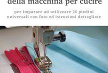 piedini macchina  cucire