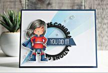 Superhero cards