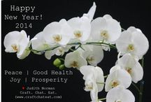 Happy New Year 2014! / Happy New Year, Friends.  May 2014 bring you all that you desire, good health, kindness & joy.
