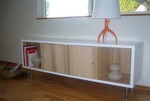 Credenza Update / Credenza, buffet, dresser, update, refinish, paint, vintage, mid-century modern.