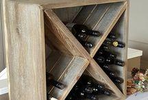 Wine Shelves Diy