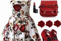 Romantico y delicado. / Ropa, make up, peinados, accesorios, bijouterie.