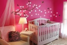 Baby girl room / Baby girl room ideas / by Mari Fernandez-Martinez