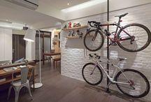 Miejsce na rower | Bike storage ideas