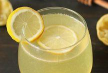 Citromos fogyasztó ital