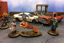 The Walking Dead: All Out War - Miniatures Game