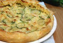 Torta salata di zucchine e brie