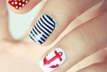 Stripes / Geometric nails
