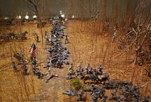 Military. Diorama