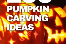 Pumpkin Carving Ideas / All sorts of inspiration for your Halloween gourd, from the terrifying to the creative.