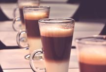 Café ♡ / Cafés. Coffees.