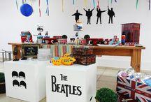 Festa com tema Beatles