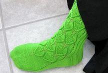 neulonta pitsit / knitting/lace