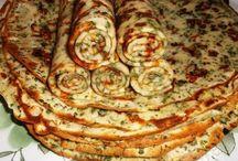 palačinky, lívance,pizza, atd. / slané a sladké