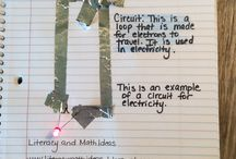 Science - Electricity / Ideas and inspiration for teaching elementary students about electricity.