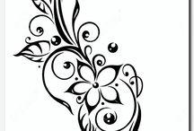 chinese bloem tattoo
