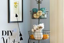 DIY Home Decor / Great DIY home decor projects I could do.  Create a happy, beautiful home on a budget. Great for farmhouse, cottage or chic styles.