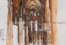 Urban sketching / Barcelona