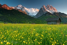 Places we like to go / Some of the wonderful scenery located in and around Garmisch and the Edelweiss Resort.